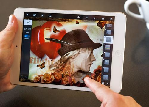 Photoshop Touch UI 2