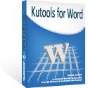 Kutools for Word v9.0.0