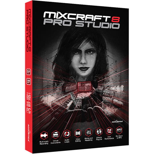 专业级混音工具 Acoustica Mixcraft Pro Studio v8.1 Build 416