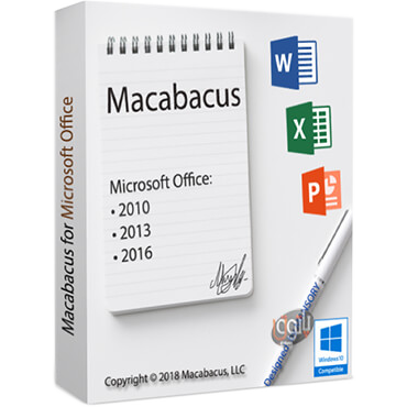 Macabacus for Microsoft Office v8.11.10